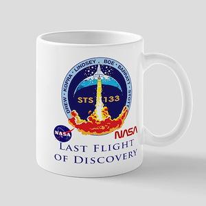 Last Flight Of Discovery Mug Mugs