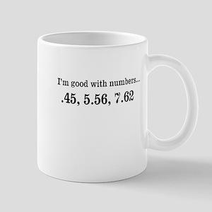 Good with numbers shirt Mug