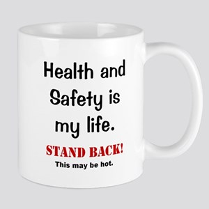 Health and Safety Officer Funny Warning Mug