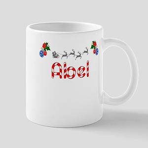 Abel, Christmas Mug