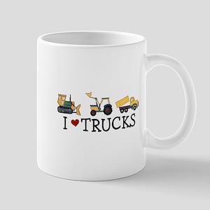 I Love Trucks Mug
