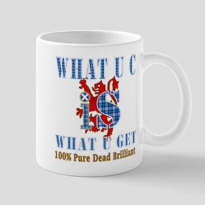 100% pure dead brilliant Mug