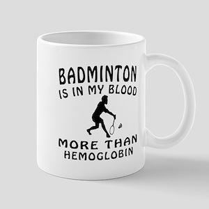 Badminton Designs Mug