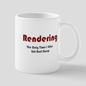 Rendering Lifestyle Mug