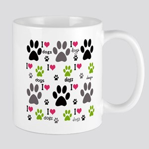 I Love Dogs Mug