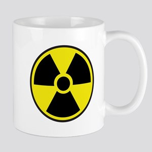 Radiation Warning Symbol Mug