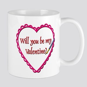Will You Be My Valentine? Mug