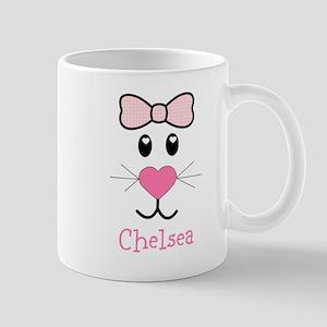 Bunny face customized Mug