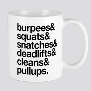 Crossfit Essentials Black Text Mug