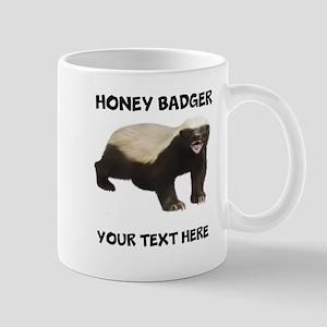Custom Honey Badger Mug