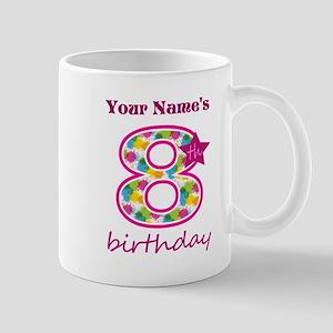 8th Birthday Splat - Personalized Mug
