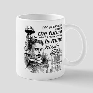 The Future Is Teslas Mug