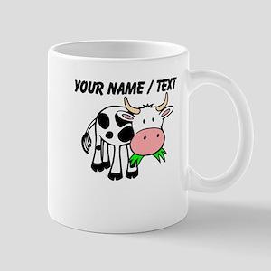 Custom Cartoon Cow Mug