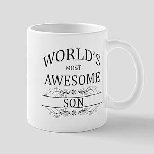 World's Most Awesome Son Mug