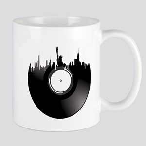 New York City Vinyl Record Mug