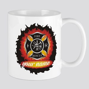 Personalized Fire and Rescue Mug