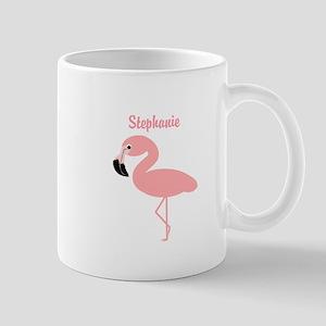 Personalized Flamingo Small Mug