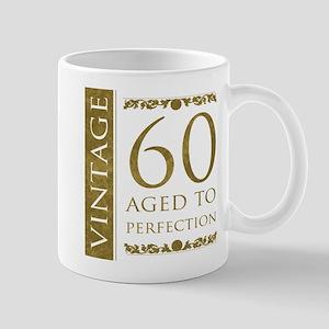 Fancy Vintage 60th Birthday Mug