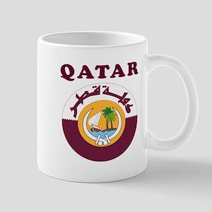 Qatar Coat Of Arms Designs Mug