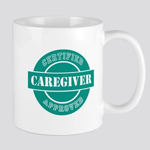 CertifiedApprovedCaregiver (Teal) Mug