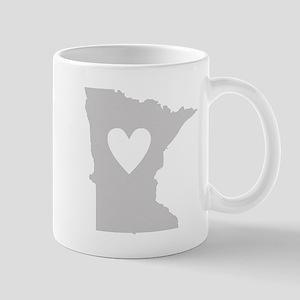 Heart Minnesota Mug