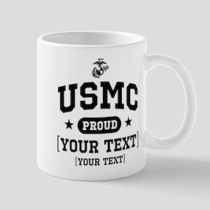 PERSONALIZE USMC Family Mug
