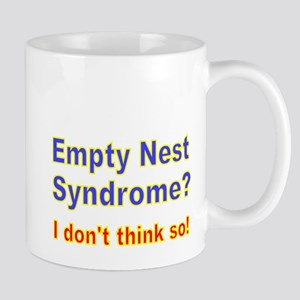 Empty Nest Syndrome I dont think so 2 Mugs