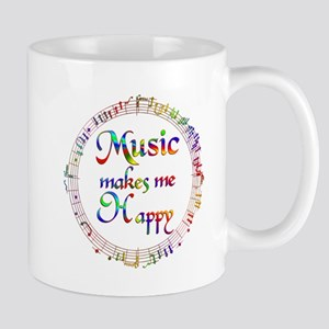 Music makes me Happy Mug