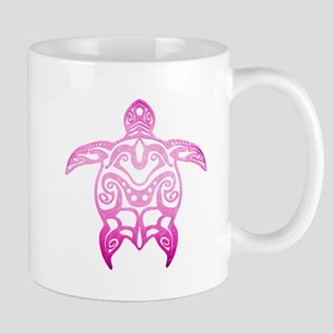 Pink Tribal Turtle Mugs