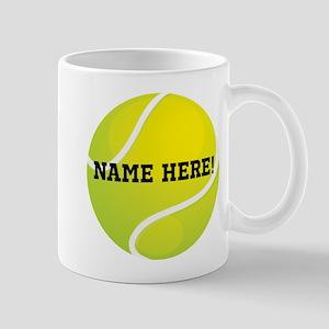Personalized Tennis Ball Mugs