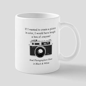 Black And White Photographer Mugs