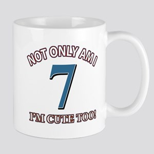 7 year old birthday designs Mug
