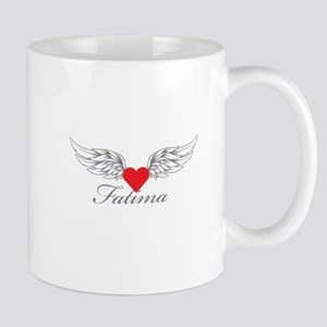 Angel Wings Fatima Mugs