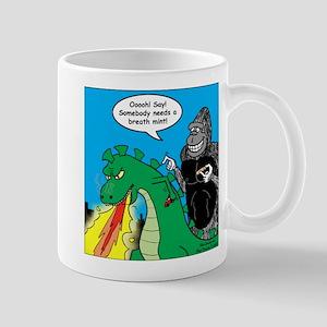 Godzilla Breath Mint Mug