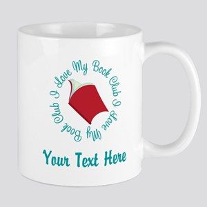 Personalized I Love My Book Club Mugs