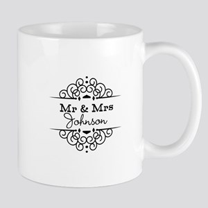 Personalized Mr and Mrs Mugs