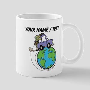 Custom Driving Around The World Mugs
