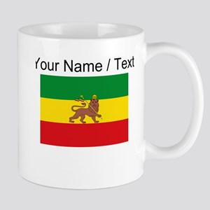 Custom Ethiopian Flag Mugs