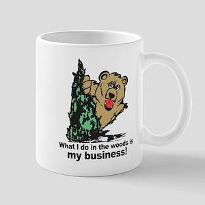 The Pooping Bear Mugs