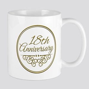 18th Anniversary Mugs