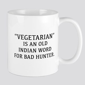 Vegetarian Is An Old Indian Word For Bad Hunter Mu