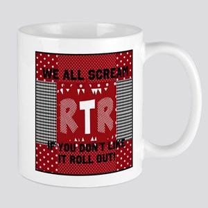 Edit text RTR hounds tooth Mugs