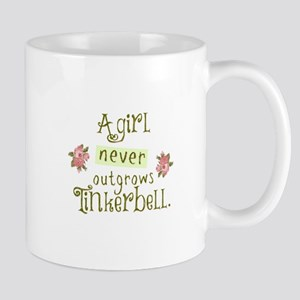 a girl never outgrows Tinkerbell Mugs