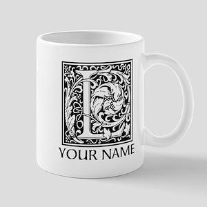 Custom Decorative Letter L Mugs