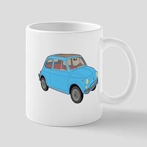 500 1957 blue Mugs