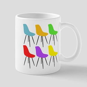 Mid Century Modern Chairs Mugs