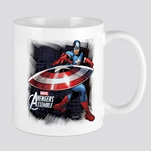 Captain America with Shield Mug
