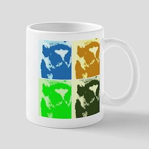 Lemur Pop Art Mugs