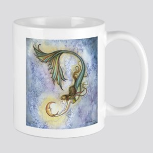 Deep Sea Moon Mermaid F Stainless Steel Travel Mug