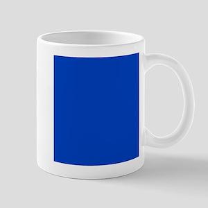 Dark Blue Solid Color Mugs